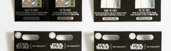 Disney – Her Universe : 4 Nouveaux Pin's bientôt disponibles en série limitée.