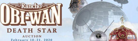 Rancho Obiwnan – Prop Store : Des Death Star customisées aux enchères