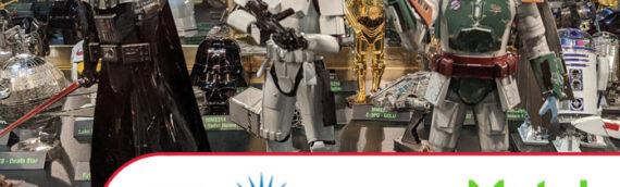 NYTF 2020 : De très beaux kits en métal présentés par Metal Earth