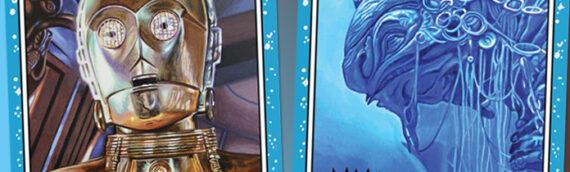 Topps – 2 nouvelles cartes dans la gamme Star Wars Living Set