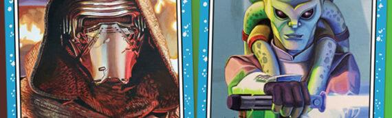 Topps – Cette semaine Kylo Ren et Kit Fisto dans le Star Wars Living Set
