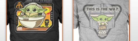 NYTF2020 – FUNKO : 2 nouveaux Tee-shirt The Mandalorian bientôt disponibles
