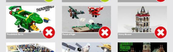 LEGO IDEA – Les résultats de la deuxième sélection de 2019