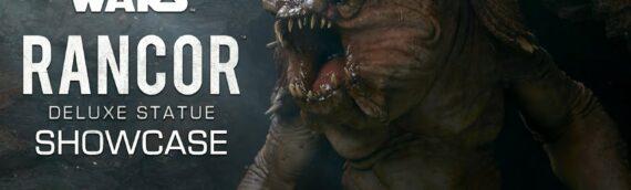 Sideshow Collectibles – The Rancor Deluxe Statue se dévoile en vidéo