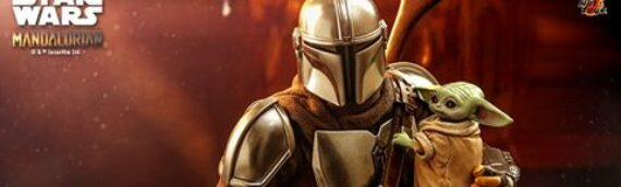 HOT TOYS – The Mandalorian and The Child Collectible Set (Deluxe Version) Sixth Scale Figure