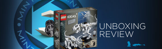 [Mintinbox opens the Box] LEGO Ideas Dinosaur Fossils 21320