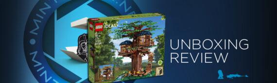 [Mintinbox opens the Box] LEGO Ideas La Cabane dans l'arbre 21318