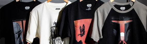 Heroes & Villains : 4 nouveaux Tee-shirts The Mandalorian