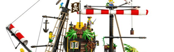 LEGO IDEAS – 21322 Pirates of Barracuda Bay