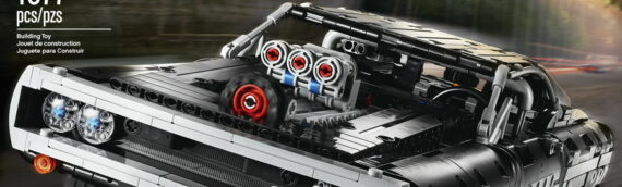 LEGO TECHNIC – 42111 DODGE CHARGER FROM THE FAST & FURIOUS