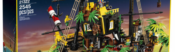 LEGO – LEGO Ideas 21322 Pirates of Barracuda disponible sur le LEGO Shop