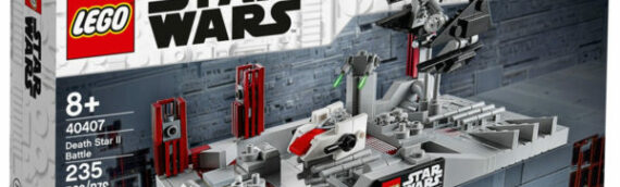 LEGO Star Wars 40407 Death Star II Battle offert pour la promo du 4 mai