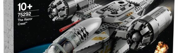 LEGO Star Wars – 75292 The Razor Crest dévoile son packaging