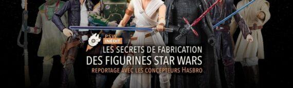 Reportage : Les Secrets de Fabrication des Figurines Hasbro Black Series Star Wars réalisé par Planète Star Wars