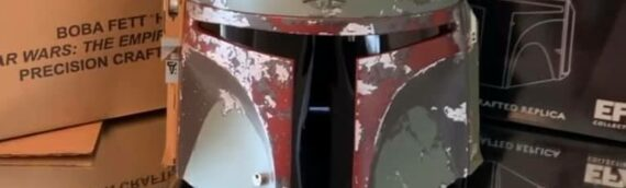 eFX Collectibles – Boba Fett Helmet 6 signatures Edition