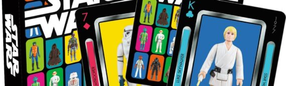 Jeux de cartes à jouer Star Wars Vintage Kenner Action Figures