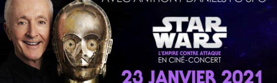 Ciné Concert à Marseille : Le concert est reporté au 23 Janvier 2021