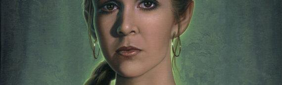 "Jerry Vanderstelt ""Princess Leia Fearless"" Canvas originale en vente"