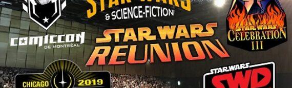 Star Wars en Direct – L'évolution des conventions
