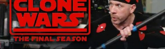 Star Wars The Clone Wars – Le making of du retour de Ray Park as Darth Maul