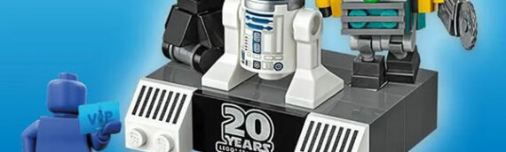 LEGO VIP – Star Wars Mini Droid Commander & Portes clés Star Wars disponibles