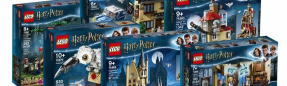 """LEGO – Harry Potter """"Wizarding World"""" toutes les nouveautés de l'été"""