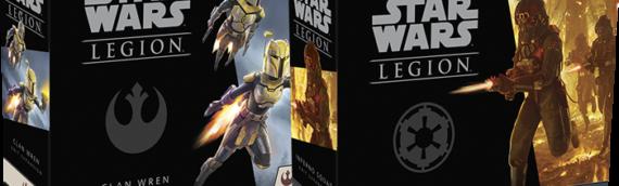 Fantasy Flight Games – Legion : L'escouade Inferno et le clan Wren bientôt disponibles