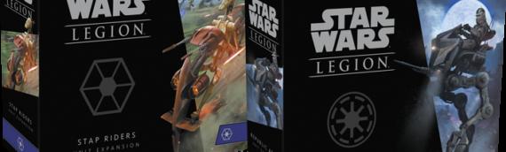 Fantasy Flight Games – Legion : Deux nouvelles extensions en lien avec la prélogie