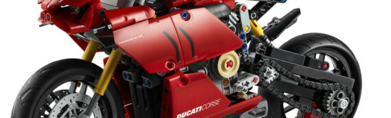 LEGO – Technic 42107 Ducati Panigale V4R