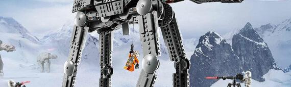 LEGO – Le tout nouveau set STAR WARS 75288 AT-AT se dévoilé en images