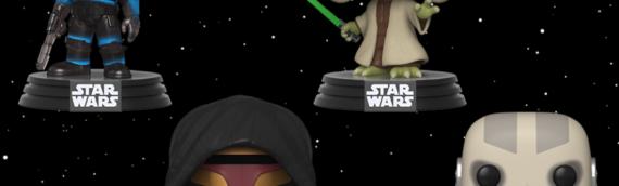 FUNKO – Une nouvelle série de POP tirée des jeux vidéos Star Wars