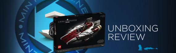 [Mintinbox Open the Box] LEGO Star Wars 72275 A-Wing UCS