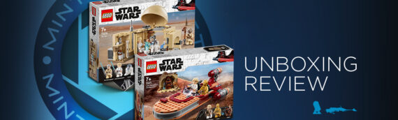 [Mintinbox opens the Box] LEGO Star Wars 75271 Le Landspeeder de Luke Skywalker et LEGO 75270 Star Wars La Cabane d'Obi-Wan