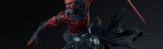 Sideshow Collectibles – Darth Maul Mythos Statue disponible en précommande aujourd'hui