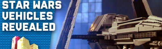 Lego Masters Australie 2020 : Réalisation de nouveaux véhicules Star wars en petites briques