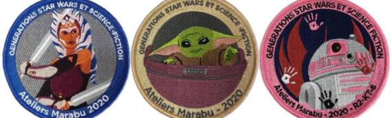 Générations Star Wars & Sci-Fi : Les patchs de l'édition 2020 sont disponibles en lignes