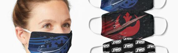 La boutique de Star Wars en Direct propose des masques