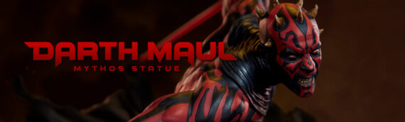 Sideshow Collectibles – PREVIEW Darth Maul Mythos Statue