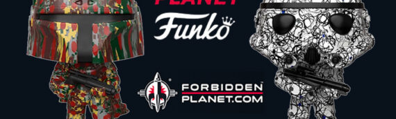 Funko Pop : Deux figurines Futura en exclu chez Forbidden Planet