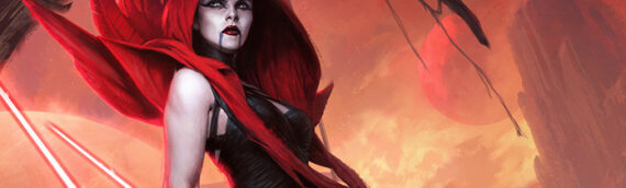 Sideshow Collectibles: L'artprint d'Assaj Ventress par Darren Tan disponible en précommande