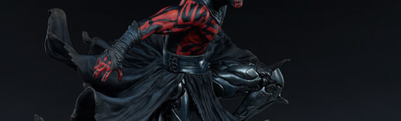 Sideshow – Mythos : Nouvelles photos de la future statue de Darth Maul