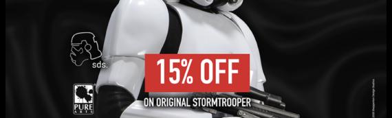 PURE ARTS – Le stormtrooper à prix spécial pour le May the 4th