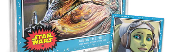 Topps – Star Wars Living Set : Jabba et Hera Syndulla pour cette nouvelle semaine