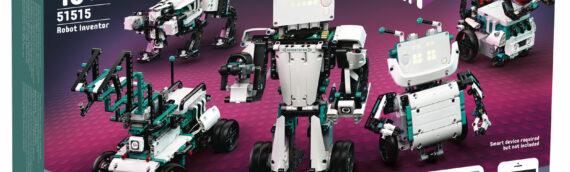 LEGO – Mindstorms 51515 Robot Inventor le retour de la gamme !!!