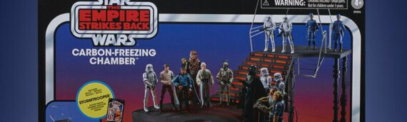 HASBRO – Star Wars The Vintage Collection Carbon Freezing Chamber Playset