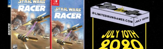 Limited Run Games: Star Wars Racer, l'édition physique en précommande cet après-midi