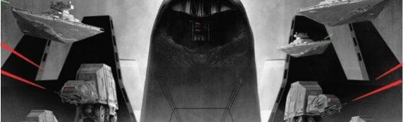 L'affiche de Matt Ferguson pour les 40 ans de l'Empire contre-attaque en vente