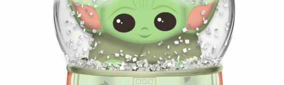 Silver Buffalo: Une boule à neige Baby Yoda