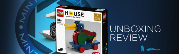 [Mintinbox Open the Box] LEGO 40501 The Wooden Duck LEGO HOUSE Exclusive