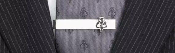 Disney : Une pince cravate Mandalorien